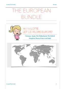 The European Bundle - 7 Countries in 1 Package! UK, FR, NL