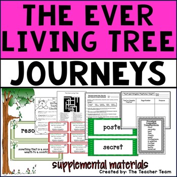 The Ever Living Tree Journeys Fourth Grade Supplemental Materials