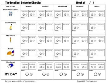 An Excellent Behavior Chart, Simply the best elementary Be