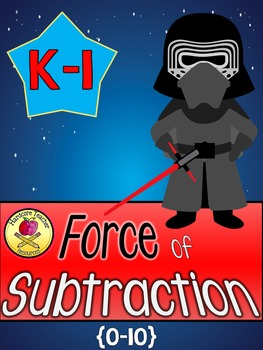 The FORCE of Subtraction: K-1 Mini Book Craftivity & Solve