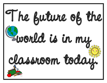 The FUTURE is in my classroom...