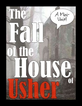 The Fall of the House of Usher: A Mini-Unit! *Snapchat Act