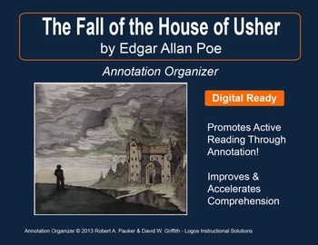 """""""Fall of the House of Usher"""" by Edgar Allan Poe: Annotatio"""