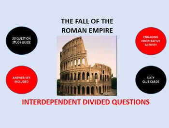 The Fall of the Roman Empire: Interdependent Divided Quest