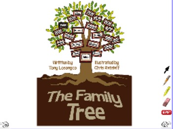 The Family Tree - ActivInspire Flipchart - Big Book
