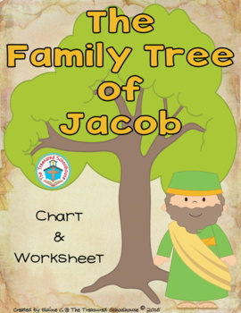 The Family Tree of Jacob Chart and Worksheet