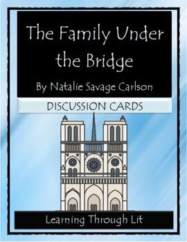 THE FAMILY UNDER THE BRIDGE Natalie Savage Carlson  - Disc