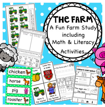 The Farm A Math and Literacy Unit for Pre K, Kindergarten