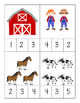The Farm - a math and literacy pack