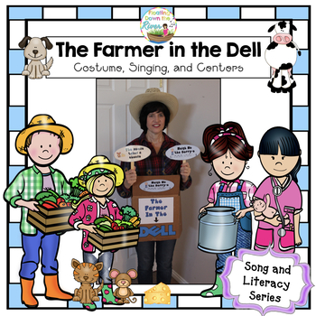 The Farmer in the Dell: Halloween costume/Visual aides lar