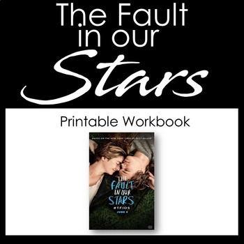 The Fault in our Stars - Unit Activities