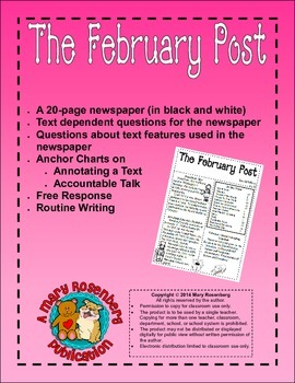 The February Post  Newspaper that Supports the Common Core