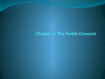 The Fertile Crescent and Judaism PowerPoint