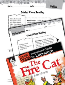 The Fire Cat Close Reading And Text-Dependent Questions