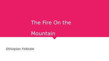 The Fire on the Mountain: JR Great Books