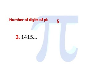 The First 100 Digits of Pi (for Pi Bees or Recitals) by To
