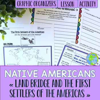 Native Americans - Land Bridge and the First Settlers of t