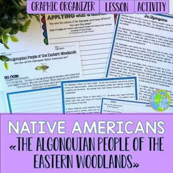 Native Americans - Algonquians