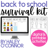 Beginning of the Year Activities and Lessons For First and