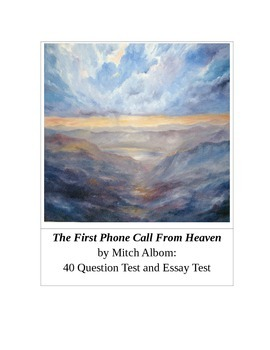 The First Phone Call From Heaven by Mitch Albom Tests