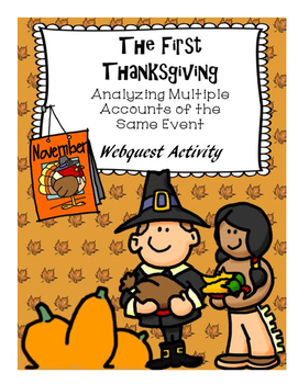 The First Thanksgiving:  Analyzing Multiple Accounts of th