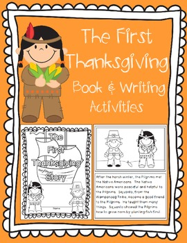 The First Thanksgiving Book and Writing Activities