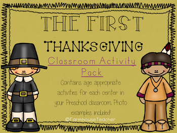The First Thanksgiving Classroom Story and Activity Pack