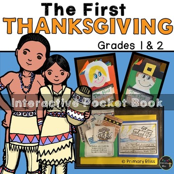 The First Thanksgiving Interactive Pocket Book - Common Co