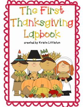 The First Thanksgiving Lapbook