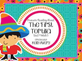 The First Tortilla Reading Street 2nd Grade 4.5
