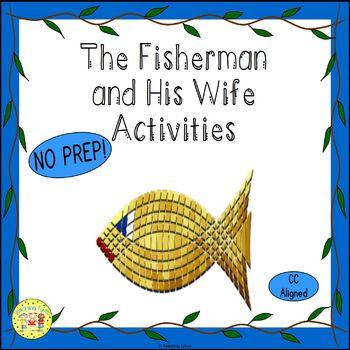 The Fisherman and His Wife Fairy Tales Worksheets Activiti