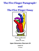The Five Finger Paragraph© -- Upper Elementary (Gr. 4-8) C