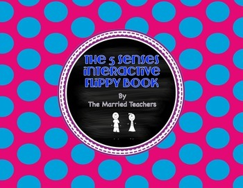 The Five Senses Science Interactive Flippy Book
