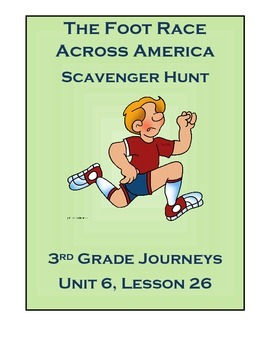 The Foot Race Across America Scavenger Hunt (Journeys, Gra