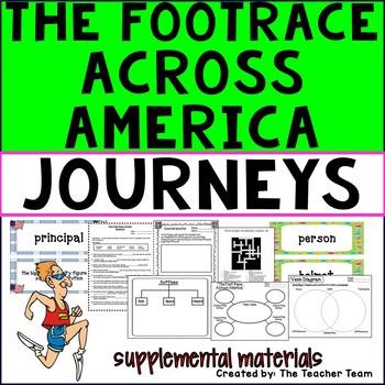 The Foot Race Across America Journeys Third Grade Suppleme