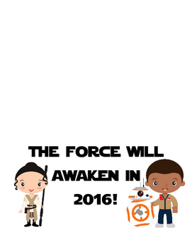 The Force Will Awaken in 2016 Goal Writing