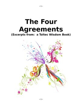 The Four Agreements Study by don Miguel Ruiz