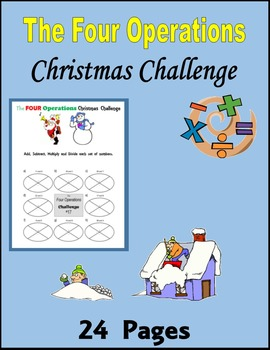The Four Operations Christmas Challenge