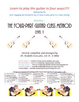 The Four-Part Guitar Class Method