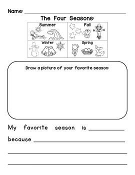Four Seasons Writing