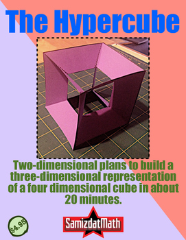 The Fourth Dimension: Hypercube, Tesseract Cut-Outs! Easy