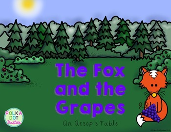 The Fox and the Grapes {Aesop's Fables}