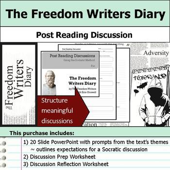 The Freedom Writers Diary - Socratic Method - Post Reading