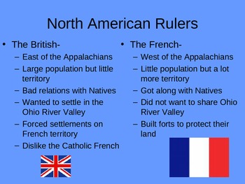French and Indian War Notes