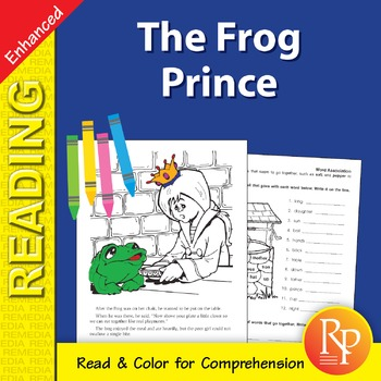 The Frog Prince: Read & Color - Enhanced