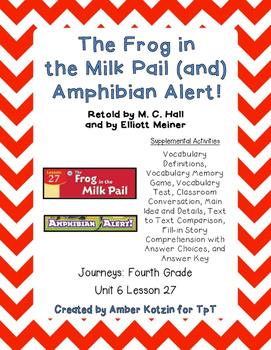 The Frog in the Pail and Amphibian Alert! 4th Grade Journe