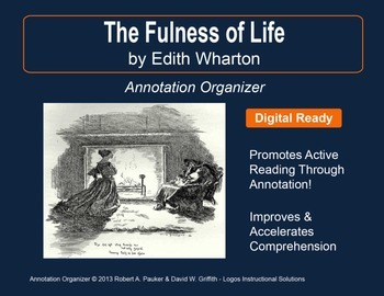 The Fulness of Life by Edith Wharton: Annotation Organizer