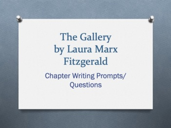 The Gallery, by Laura Marx Fitzgerald. Vocabulary/Chapter