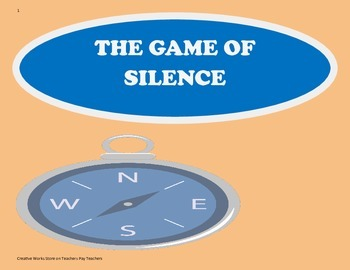 The Game of Silence - Tri-Folds + Activities ( 4th Grade R