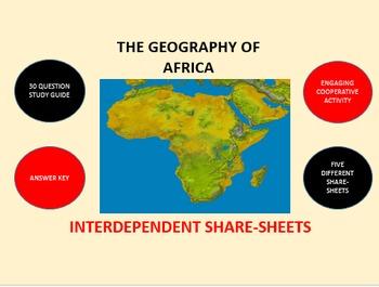 The Geography of Africa: Interdependent Share-Sheets Activity